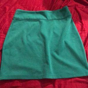 urban outfitters green pencil skirt size medium